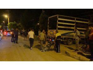 Samandağ'da Pikap İle Motosiklet Çarpıştı: 1 Yaralı