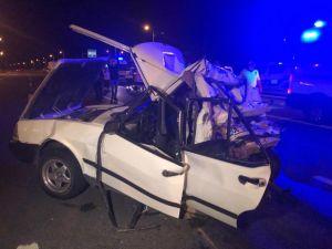Ankara'da Tır'ın Arkadan Çarptığı Otomobildeki 2 Kişi Öldü