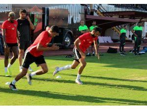Hatayspor, Alanyaspor Maçı Hazırlıklarını Sürdürdü