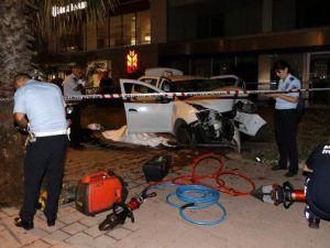 İranlı turistler kaza yaptı: 1 ölü, 3 yaralı