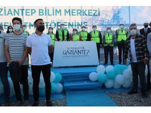 Müzeyyen Erkul Gaziantep Bilim Merkezi'nin Temeli Atıldı