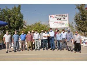 Mersin'de Süt Üreticilerine Kaba Yem Tohumu Desteği