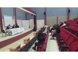 Sağlık Müdürü Aygören Gölhisar Da Kovid-19 İlçeler Toplantısını Yaptı.