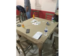 Kahvede Oyun Oynayanlara Korona Cezası