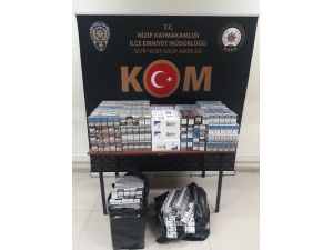 Gaziantep'te 3 Bin 150 Paket Kaçak Sigara Ele Geçirildi