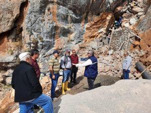 Büyükşehirden, Gündoğmuş Aksu grup suyu kaynağında çalışma