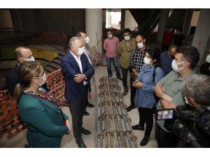 Doğu Garajı ve Nekropol Projeleri Mart sonunda tamamlanacak