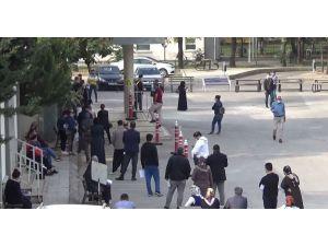 Gaziantep'te Test Kuyrukları Uzadı Vali İkinci Dalga İçin Uyardı
