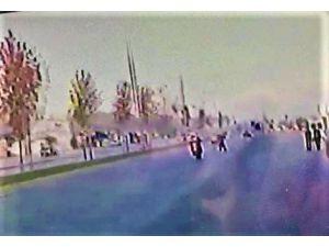 Motosikletin Çarptığı Kadın Metrelerce İleriye Fırladı
