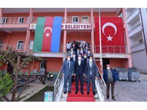 """Başkan Altay: """"El Birliğiyle İlçelerimizin Gelişimine Katkı Sağlıyoruz"""""""