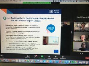 Dod, Autism Europe Üyesi Oldu