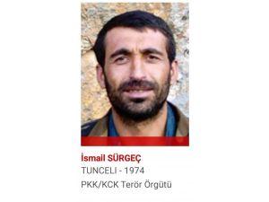 Etkisiz Hale Getirilen Kırmızı Kategorideki Teröristin Suç Listesi Kabarık