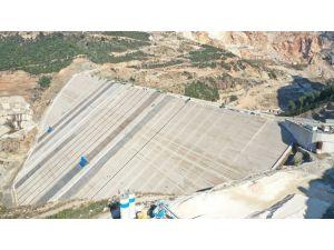 Mersin Pamukluk Barajının Ön Yüz Beton İmalatlarına Başlandı