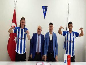 B.b. Erzurumspor, Erman Bulucu Ve Metin Yüksel İle Sözleşme İmzaladı