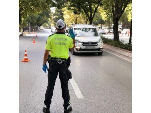 Konya'da 2 Bin 235 Sürücüye Çeşitli İhlallerden Ceza