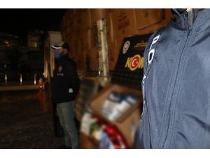 Ankara Polisi İki Tırda 6 Ton 665 Kilo Kaçak Tütün Ele Geçirdi