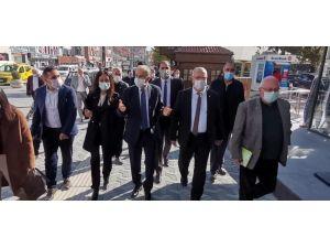 Chp Heyeti Beypazarı'nda Vatandaşlarla Bir Araya Geldi