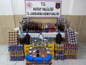 Hatay'da 241 Litre Kaçak İçki Ele Geçirildi
