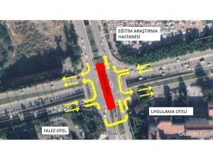 Falez Kavşağı 20 günlüğüne trafiğe kapanacak
