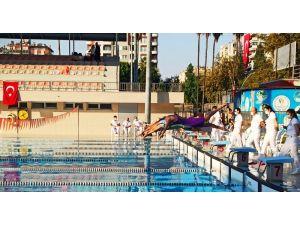 """Adana'da """"Yüzme Performans Tespit Müsabakaları"""" Tamamlandı"""