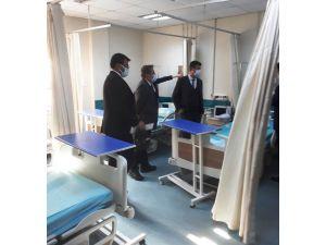 Sağlık Müdürü Korkmaz, Emirdağ İlçesinde Sağlık Ünitelerini İnceledi