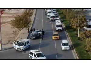 Gaziantep Polisinden Drone Destekli Asayiş Uygulaması