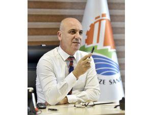 """OSB Başkanı Bahar"""" Yüksek kurdan yorulan üretici, faiz molasına razı"""""""