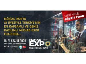 Müsiad Expo'da Konya Rüzgarı