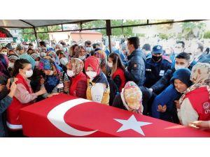 Hakkari Şehidi Osmaniye'de Son Yolculuğuna Uğurlandı