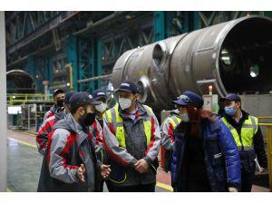 Türkiye Nükleer Düzenleme Kurumu Heyetinden Atommash'a Ziyaret