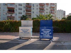 Kepez'de atıklarda ikili toplama sistemine geçildi