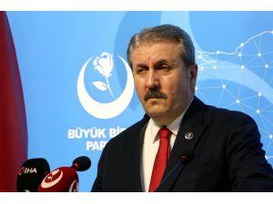 """Bbp Genel Başkanı Destici: """"Türkiye'nin Bu Anayasasından Kurtulması Lazım"""""""