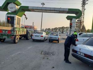 Trafik Denetimlerinde 167 Sürücüye Ceza