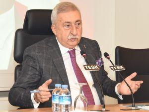 """Tesk Genel Başkanı Palandöken: """"Kısıtlamalar En Çok Esnaf Ve Sanatkârı Etkiliyor"""""""
