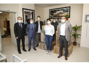 AÜ Hastanesi'ne ventilasyon cihazı bağışı
