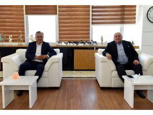 Başkan Uysal, salgın önlemleri için ATSO ile görüştü