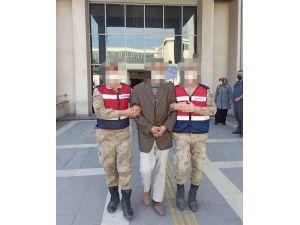 Kesinleşmiş 10 Yıl Hapis Cezası Olan Şahıs, Jandarma Tarafından Yakalandı