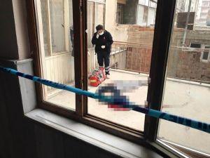 Konya'da Apartman Boşluğunda Şüpheli Ölüm