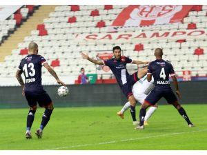 Süper Lig: Fraport Tav Antalyaspor: 0 - Aytemiz Alanyaspor: 0 (İlk Yarı)