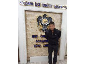 Başkent Polisinden Hırsızlık Operasyonu
