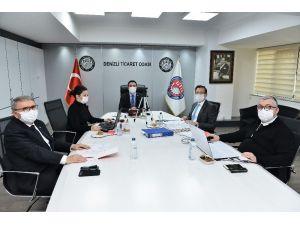 Dto Meclisi Kasım Ayı Toplantısı İnternet Ortamında Gerçekleştirildi