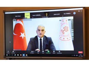 """Bakan Ersoy: """"Aşılama programını aralık itibarıyla devreye alıyoruz"""""""