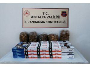 Antalya'da jandarmadan açıkta tütün ve makaron satanlara ceza