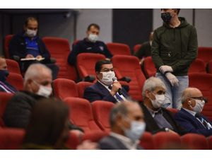 Muratpaşa'da Muhtarlar Meclisi toplandı