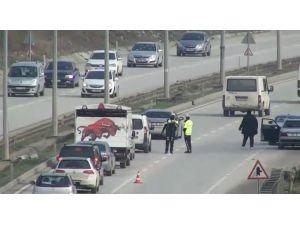 Hatay'da Drone Destekli Trafik Denetimi