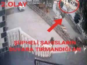Hırsızlar Önce Güvenlik Kamerasına Sonra Polise Yakalandı