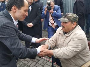 Fatih Erbakan'dan 3 Aralık Dünya Engelliler Günü Mesajı