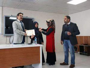 Çelikhan'da Başarılı Öğrenciler Altınla Ödüllendirildi