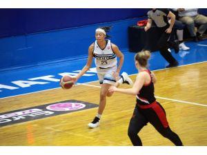 Basketbol Fıba Kadınlar Avrupa Kupası: Hatay Bşb: 77 - S. Moskova: 72