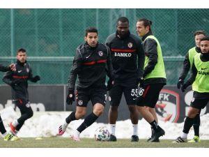 Gaziantep Fk, Galatasaray Maçı Hazırlıklarını Sürdürüyor